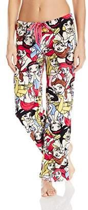 Disney Women's Princess Fleece Sleep Pajama Pant $6.98 thestylecure.com