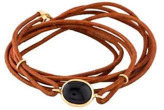 Syna 18K Spinel Wrap-Around Cord Bracelet