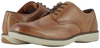 Nunn Bush Maclin Street Wing Tip Oxford with KORE Slip Resistant Walking Comfort Technology Men's Lace Up Wing Tip Shoes