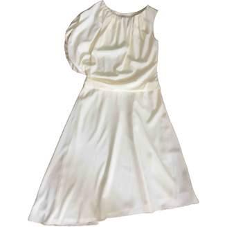Cos Yellow Silk Dress for Women