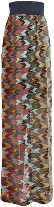 Missoni Knit Chevron Maxi Skirt