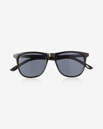 Express Flat Square Sunglasses