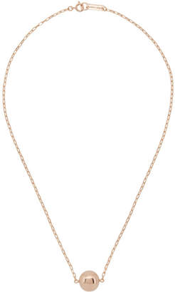 Isabel Marant Rose Gold Toutou Necklace