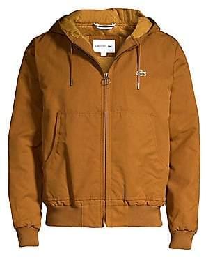 Lacoste Men's Zip-Up Hooded Jacket