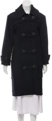 Cédric Charlier Wool Colorblock Coat
