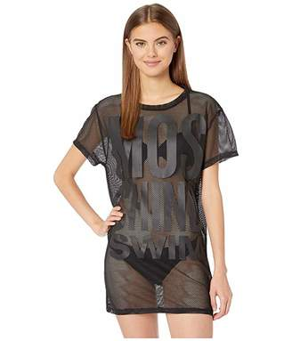 Moschino Mesh Maxi T-Shirt Cover-Up