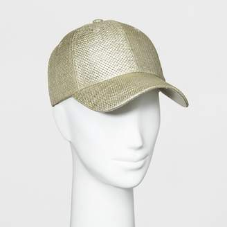 A New Day Women's Baseball Hat Light Gold