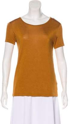 Alexander Wang Jersey Short Sleeve Top