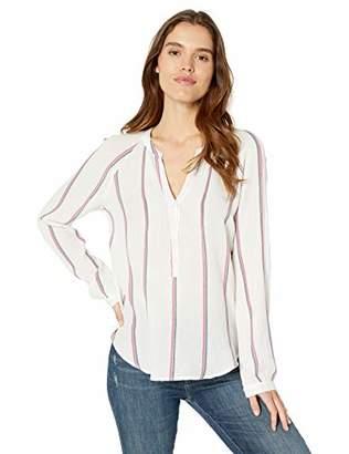 15ddc50d84cc Lucky Brand Women s Stripe Gauze Shirt XL