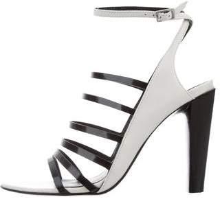 3.1 Phillip Lim Leather Cage Sandals