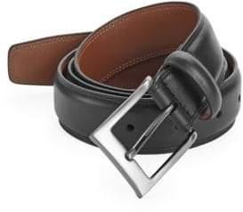 Perry Ellis Timothy Full Grain Leather Belt