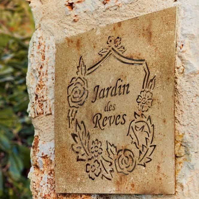 LOBERON Wandornament Jardin des Reves