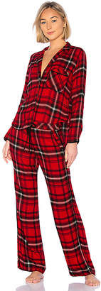 Bella Dahl Jasper Flannel Sleep Set
