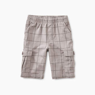 Tea Collection Windowpane Cargo Shorts