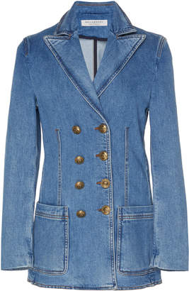 Philosophy di Lorenzo Serafini Structured Denim Double-Breasted Blazer