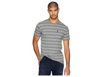 Ben Sherman Heathered Stripe Pocket Tee