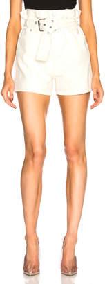 3.1 Phillip Lim Belted Paper Bag Shorts
