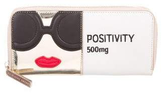 Alice + Olivia Stace Face Positivity Pill Wallet