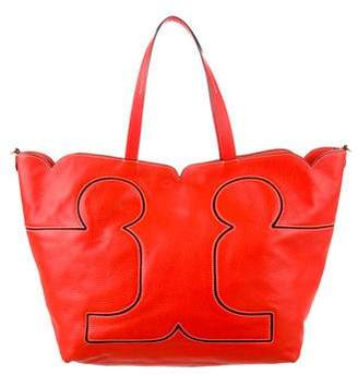 Tory Burch Textured Leather Tote