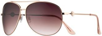 Lauren Conrad Carmel 2 66mm Oversized Aviator Sunglasses
