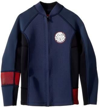 Rip Curl Kids Junior Aggrolite Long Sleeve Full-Zip Jacket Boy's Swimwear