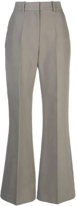 PARTOW high-rise flared trousers