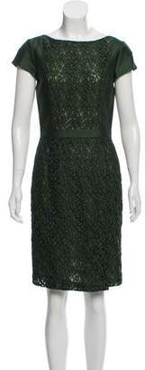 Tory Burch Lace Knee-Length Dress