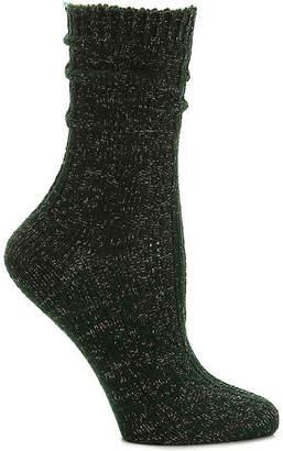 Mix No. 6 Lurex Cable Crew Socks - Women's