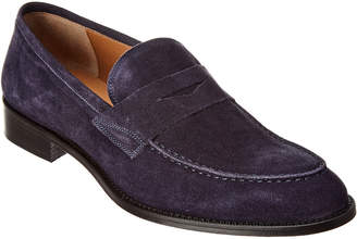 4230476f953 Gordon Rush Italy Suede Penny Loafer