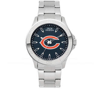 Jack Mason Men's Chicago Bears Color Sport Bracelet Watch