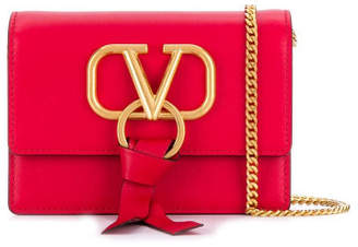 Valentino Vring Leather Pouch