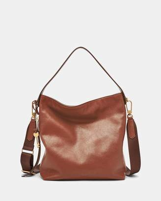 Fossil Maya Brown Hobo Bag