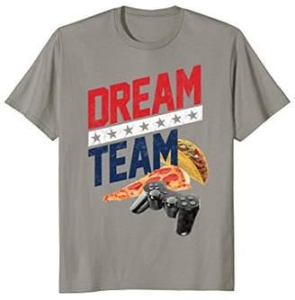 Freeze Food Dream Team Novelty T-Shirt