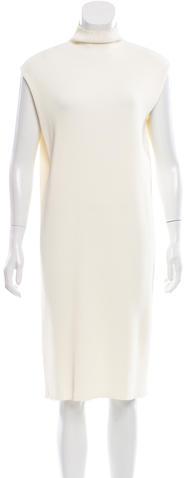 CelineCéline Rib Knit Midi Dress
