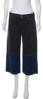Simon Miller Mid-Rise Bicolor Jeans