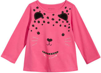 First Impressions Cat-Print T-Shirt, Baby Girls, Created for Macy's
