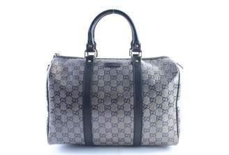 Gucci Boston Cloth Bowling Bag