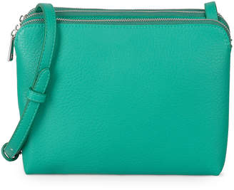 Oliver Bonas Kennedy Three Pocket Green Cross Body Bag 84854ed6fb07