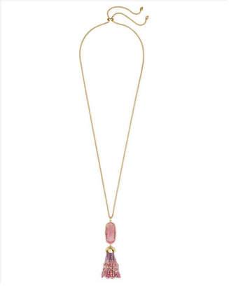 """Kendra Scott Eva Adjustable Tassel Pendant Necklace, 32"""""""