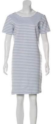 Veronica Beard Striped Knee-Length Dress