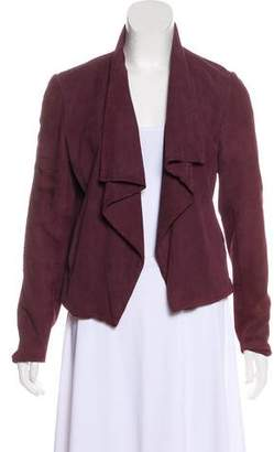 Theory Suede Casual Jacket