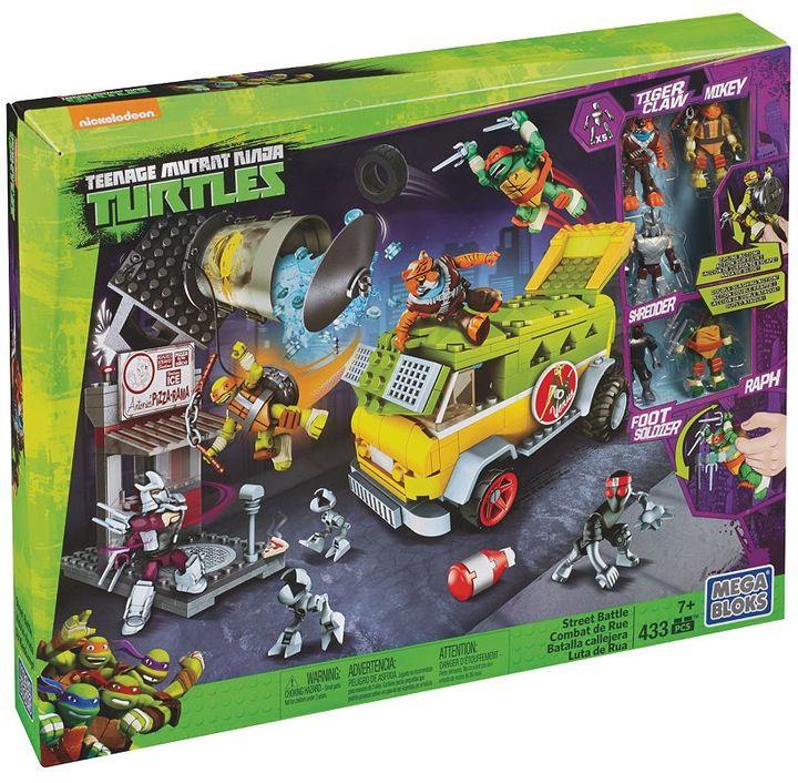 Mega Bloks Teenage Mutant Ninja Turtles Big City Battle Set