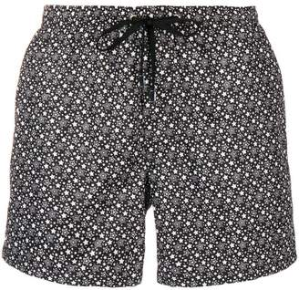 fe-fe star print swim shorts