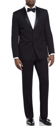 Ike Behar Ike Evening By Black Two-Piece Notch Lapel Tuxedo
