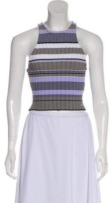 Elizabeth and James Sleeveless Striped Top