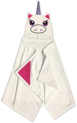 Jay Franco LAST ACT! Kids' Unicorn Cotton Terry Hooded Towel