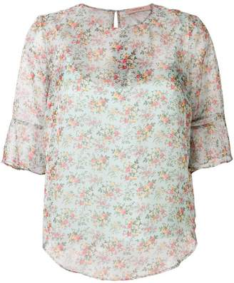 Twin-Set floral printed blouse