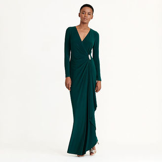 Ralph Lauren Ruched Jersey Gown $194 thestylecure.com