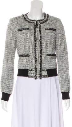 Rachel Zoe Structured Tweed Blazer