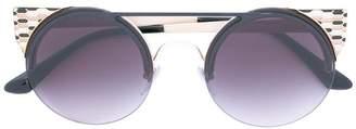 Bulgari rounded sunglasses